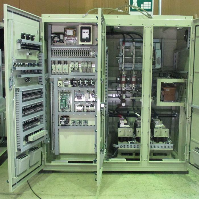 高圧始動器盤も製作可能
